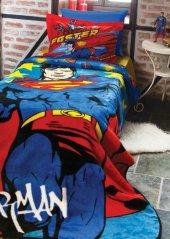 özdilek Superman Lisanslı Tek Kişilik Battaniye