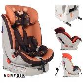 Norfolk Pro Baby Safe Isofixli 9 36 Kg Çocuk Oto Koltuğu Coffee İsofix Sıps Latch Ece R44 4