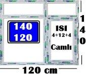 140 X 120 Isı Camlı Pencere (Kayıtlı)
