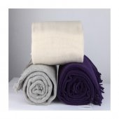 Wool Battaniye Krem