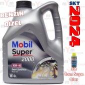 Mobil Super 2000 X1 10w 40 4litre Benzinli Lpgli D...