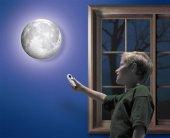 Odamdaki Ay Moon İn My Room (Gece Lambası)