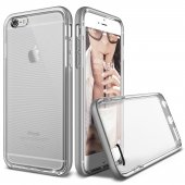 Verus İphone 6 Plus 6s Plus Crystal Bumper Kılıf Light Silver