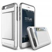 Verus İphone 6 6s Damda Clip Series Kılıf Pearl White