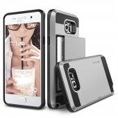 Verus Galaxy Note 5 Case Damda Slide Kılıf Light Silver