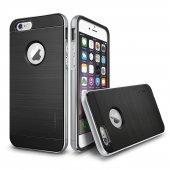 Verus İphone 6 Plus 6s Plus New Iron Shield Kılıf Silver