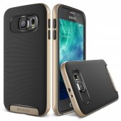 Verus Galaxy S6 Case Crucial Bumper Kılıf Shine Gold