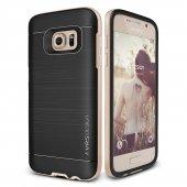 Verus Samsung Galaxy S7 Edge High Pro Shield Kılıf Shine Gold