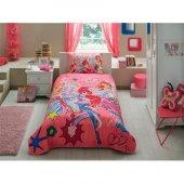 Taç Winx Girl Tek Kişilik Yatak Örtüsü Seti