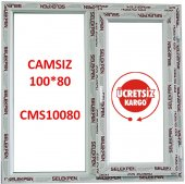 100x80 Pencere Camsız