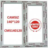 140x120 Pencere Camsız