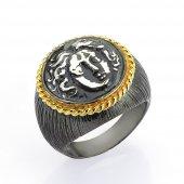 Gümüş Para Yüzük Romin 26