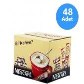 Nescafe 3 Ü 1 Arada Sütlü Köpüklü 18 Gr X 48 Adet Ücretsiz Kargo