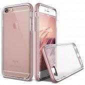 Verus Apple İphone 6 Plus 6s Plus Crystal Bumper Kılıf Rose Gold