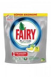 Fairy Platinum Bulaşık Makinesi Kapsülü 72 Adet