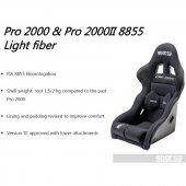 Sparco Pro 2000 2 Lf Yarış Koltuğu