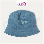 Keten Mavi Şapka