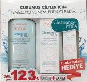 Avene Eau Thermale Cleanance Hydra Bakım Seti + Dudak Bakım Hediye