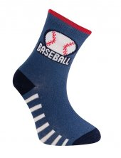 Baseball Soket Çorap İndigo
