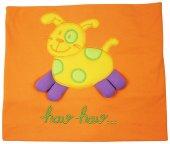 Köpekli Battaniye Oranj