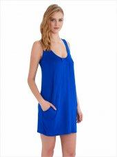 Ayyıldız 59430 Sıfır Kollu Cepli Penye Elbise