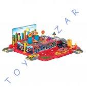 Erkek Çocuklar İçin Oyuncak Otopark Seti Araba Garaj Oyuncak Set