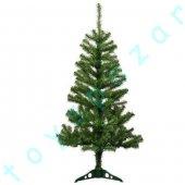 Yılbaşı Çam Ağacı 120 Cm Çam Dallar Plastik Ayaklı Noel Ağacı