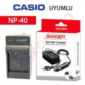 Casio Exilim Zoom Ex Z600bk Şarj Cihazı Şarj Aleti