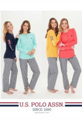 U.s Polo 15696 Bayan Pijama Takımı