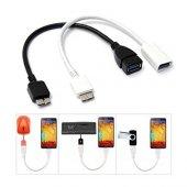 Samsung Galaxy Note 3 S5 Usb Otg Dönüştürücü Kablo