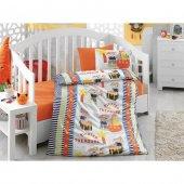 Cotton Box Ranforce Bebek Nevresim Takımı 100 Pamuk Hazine Oranj