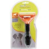 Furminator Long Hair Uzun Tüylü Köpek Tarağı Medium 14,5x6,5 Cm