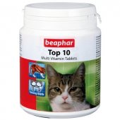 Beaphar Top 10 Kediler İçin Komple Vitamin Tablet (180 Tablet)