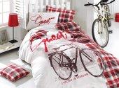 Igi Cycling Bisiklet Kırmızı Genç Nevresim Takımı Tek Kişilik