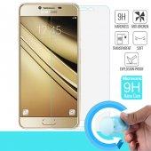 Microsonic Samsung Galaxy C7 Nano Cam Ekran Koruyucu Kırılmaz Film