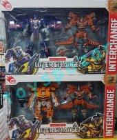 Oyuncak Transformers Arabaya Dönüşen Robot Optimus Prime Bumblebe