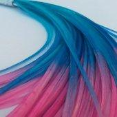 Saç Tüyü Mavi Pembe