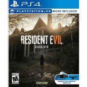 Ps4 Resident Evil 7 Vr Destekli