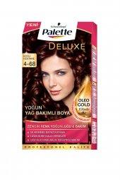 Palette Deluxe Kit Saç Boyası 4 68 Koyu Kestane
