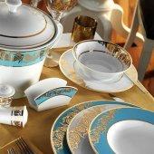 Kütahya Porselen Osmanlı Desen 97 Parça İris 6589 Yemek Takım