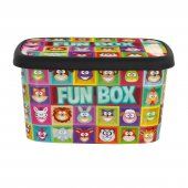 2 Adet Büyük Saklama Kutusu Fun Box