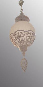 Oyks Osmanlı Sarkıt Avize Krem Silme