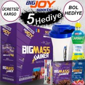 Bigjoy Bigmass Gainer 50 Servis (Paket) 5000 Gr Karbonhidrat Tozu