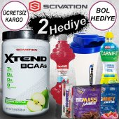 Scivation Xtend 398 Gr Bcaa Aminoasit Green Apple