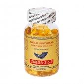 Gold Naturel Omega 3 6 9 1000 Mg 100 Soft Jel