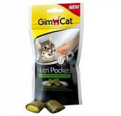 Gimcat Nutripockets Kedi Ödülü Kedi Otu & Multivitamin 60gr