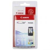 Canon Cl 511 Renkli Orjinal Kartuş (Bitmeyen Kartuş Sistemine Uyumlu, Delinmiş Ve Hazır Olarak) Mp240 Mx320 Mx330 Mp250 Mp260 Mp270 Mp480 Mp490 Mx340 Mx350 İp2700 Mp252 Mp272 Mp280 Mp282 Mp492 Mp495 Mp499 İp2702 Mx360 Mx410 Mp230