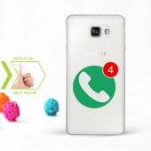 Kişiye Özel Samsung Galaxy A3 A5 A7 2016 İnce Şeffaf Silikon Telefon Kapağı (Cevapsız Çağrı 2)