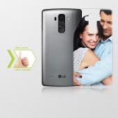 Kişiye Özel Lg G4 Stylus İnce Şeffaf Silikon Telefon Kapağı