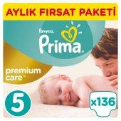 Prima Premium Care 5 Beden Junior Aylık Fırsat Paketi 136 Adet